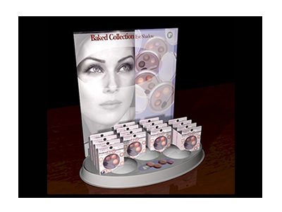 Cosmetic Product Display Sample